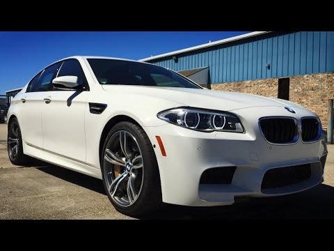 Used Bmw M5 >> 2015 BMW M5 Sedan Full Review, Start Up, Exhaust - YouTube