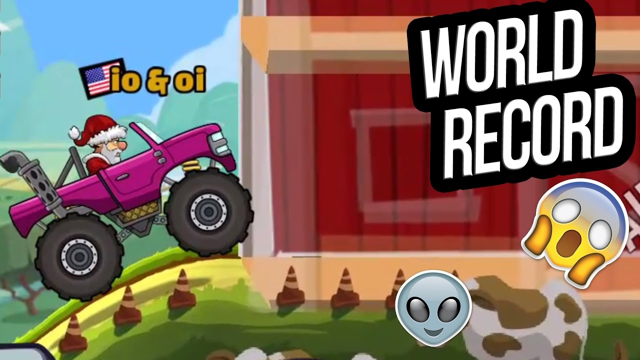 Hill Climb Racing 2 World Record In Countryside With