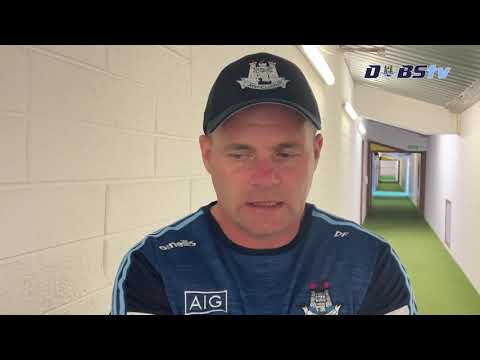 Dessie Farrell chats to DubsTV after Leinster Semi-Final win over Meath