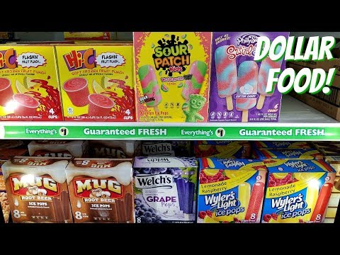 COME WITH ME TO THE DOLLAR TREE FOOD EDITION SUMMER 2018