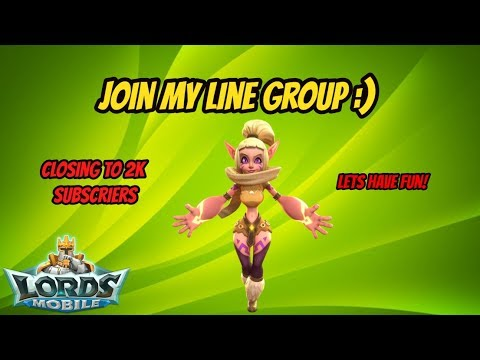 Lords Mobile - Join My Line Group