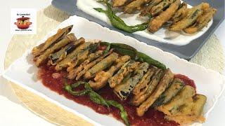Yağ Çekmeyen Çıtır Kaplamalı Sebze Kızartması- Domates Sos Tarifi