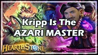 Kripp Is The AZARI MASTER - Boomsday / Arena / Hearthstone