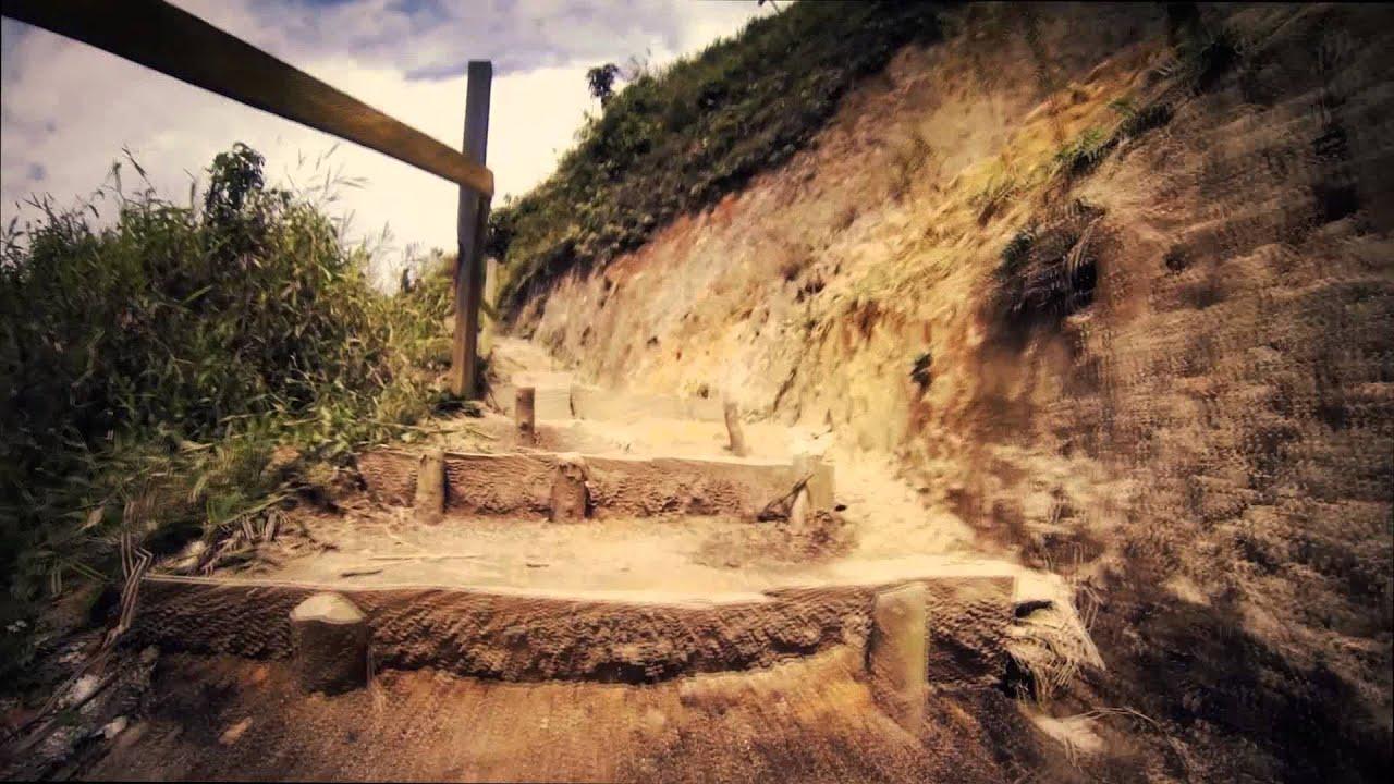 2363 Subiendo Escaleras De Tierra Efectos Paisajes