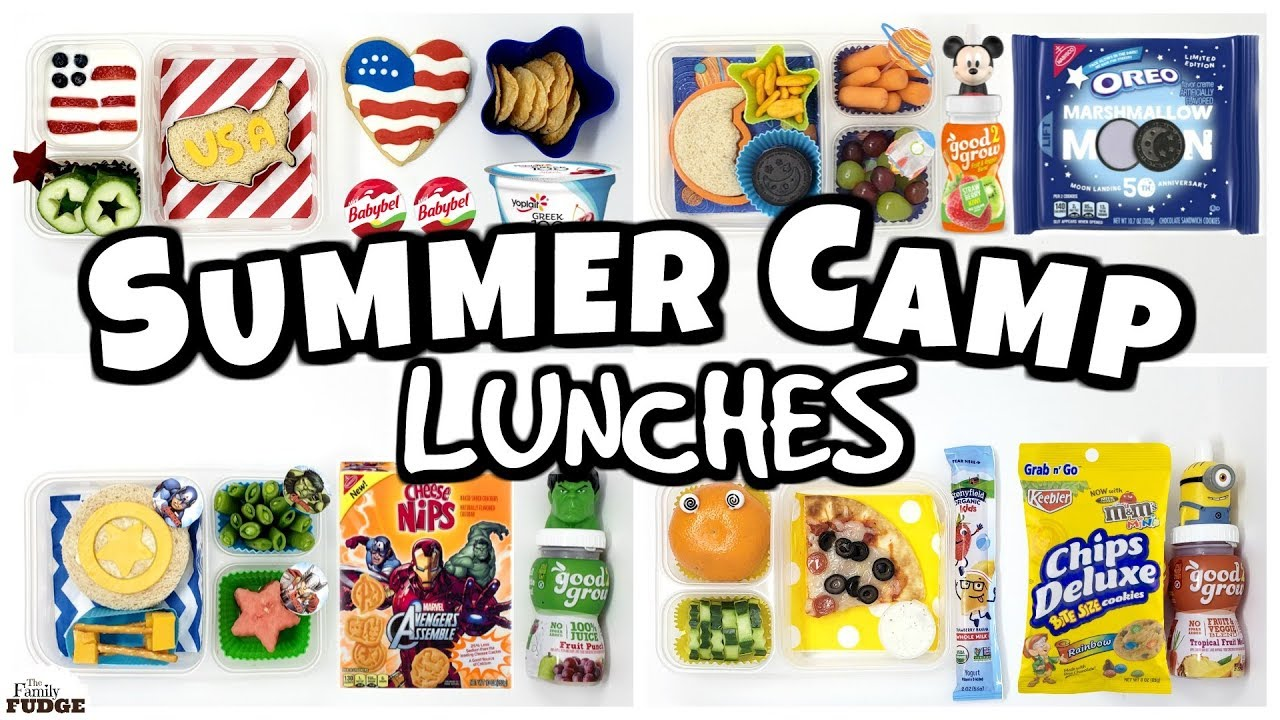 df12ab741473 Lunch ideas for SUMMER CAMP 😎 Bunches Of Lunches