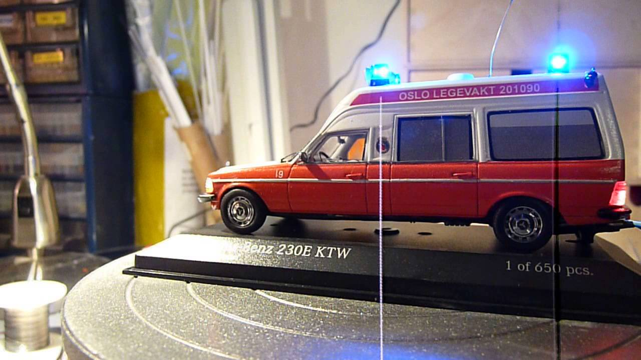 mercedes benz 230e ambulance from oslo emergency service