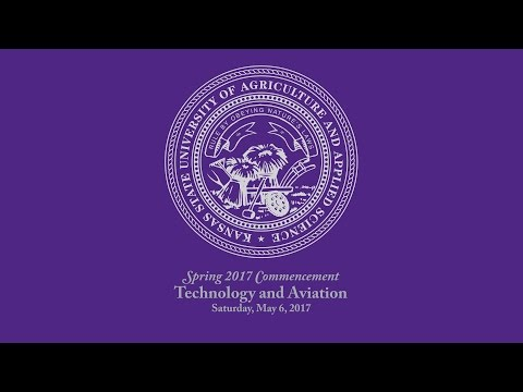 K-State Commencement - Spring 2017   Technology & Aviation