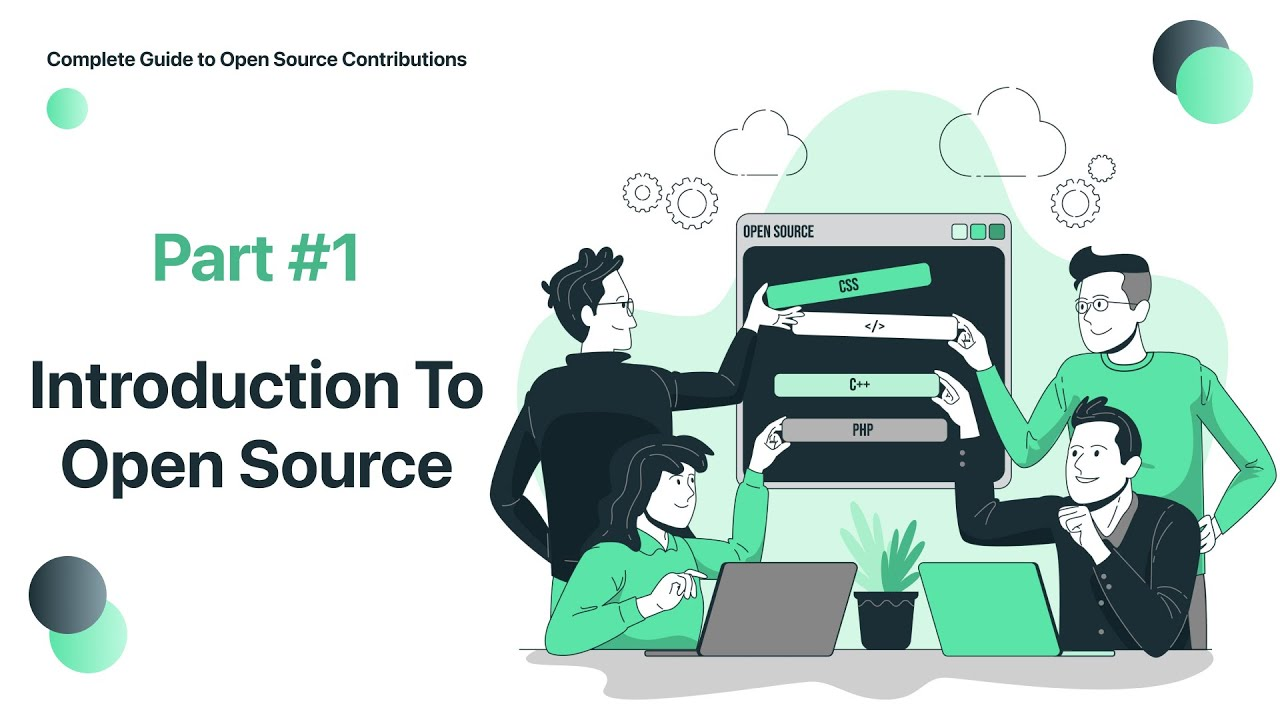 Complete Guide to Open Source Contributions | #1 Introduction to Opensource | #opensource