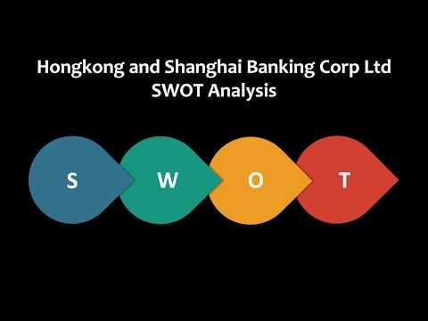 Hongkong and Shanghai Banking Corp Ltd  SWOT Analysis