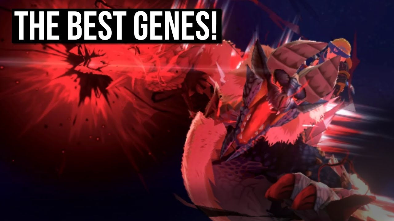 THE BEST GENES You Need To Know About In Monster Hunter Stories 2