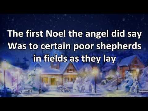 The First Noel - Instrumental with Lyrics (no vocals)