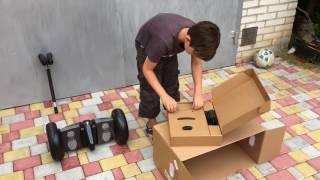 распаковка гироскутера Xiaomi Ninebot Mini by Segway из Rozetka.ua