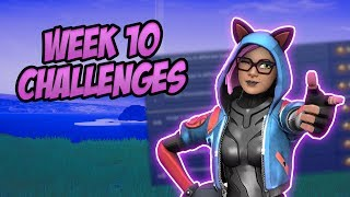 SEASON 8, WEEK 10 - Leaked Challenges! 'Guide' (Final Week) - Fortnite Battle Royale