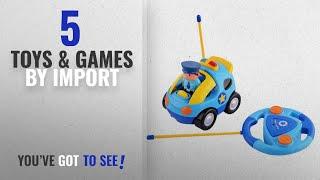 Liberty tarafından Çocuklar için [2018] Top 10 İthal Oyuncaklar ve Oyunlar: Karikatür R/C Polis Arabası Radyo kumandalı Oyuncak