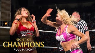 FULL MATCH - Nikki Bella vs. Charlotte - Divas Title Match: WWE Night of Champions 2015