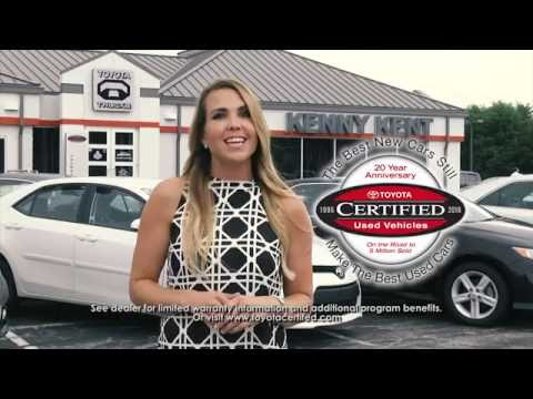 Kenny Kent Toyota Certified Used Vehicles