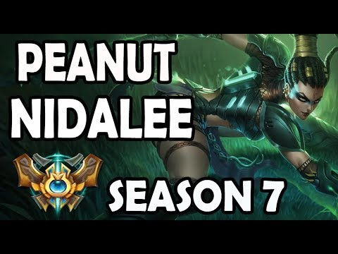 SKT T1 Peanut Nidalee Jungle vs Reksai