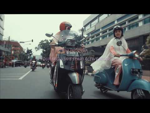 Riding Vespa With Hijab Style - Nusseyba Activewear
