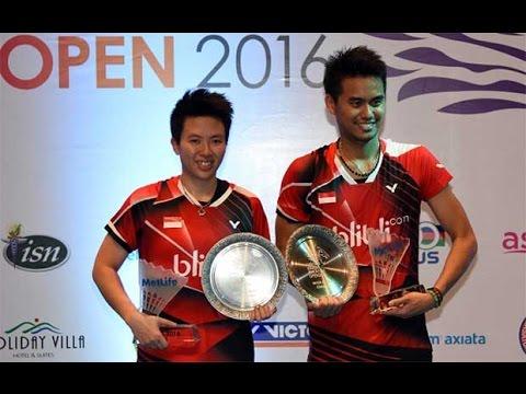 2016 Malaysia Open F - Tontowi Ahmad/Liliyana Natsir  Vs Chan Peng Soon/Goh Liu Ying