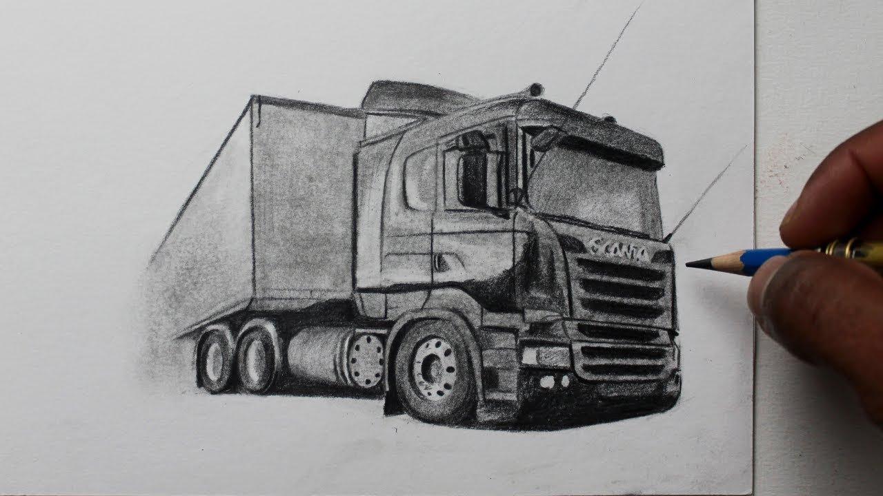 Como Desenhar Uma Scania P360 A Olho Nu Youtube