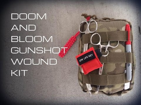 Doom and Bloom Gunshot Wound Kit- Black Scout Reviews