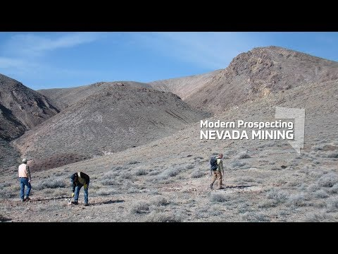 Modern Prospecting | Nevada Mining Documentary