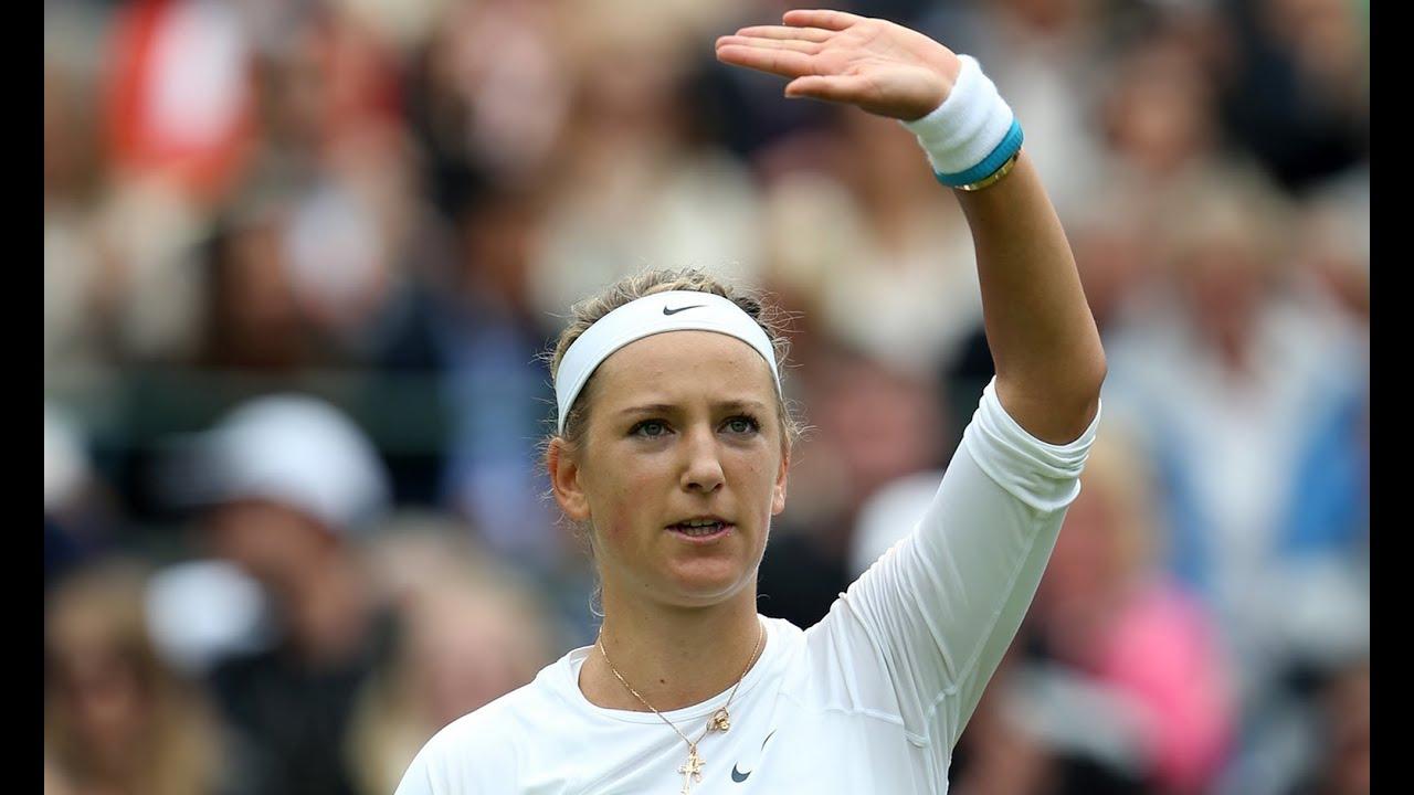 Victoria Azarenka: First Round Win, Wimbledon