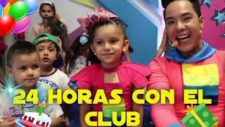 24 horas con el club de kids play / Kimy La Gatita