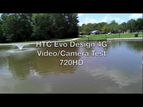 HTC EVO Design 4G Video/Camera Test