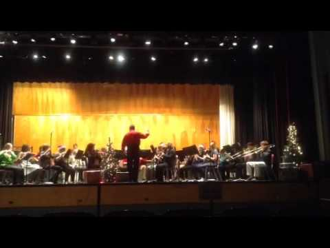 Bluefield High School Band 2015 Christmas Concert- Patapan Arr. Joseph Compello