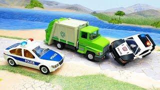 Мультики с игрушками Плеймобил Сообразительный мусорщик Новые мультфильмы про машинки