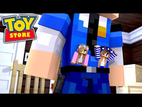 THE GREAT ESCAPE!! w/Little Carly and Little Kelly (Minecraft Toystore).