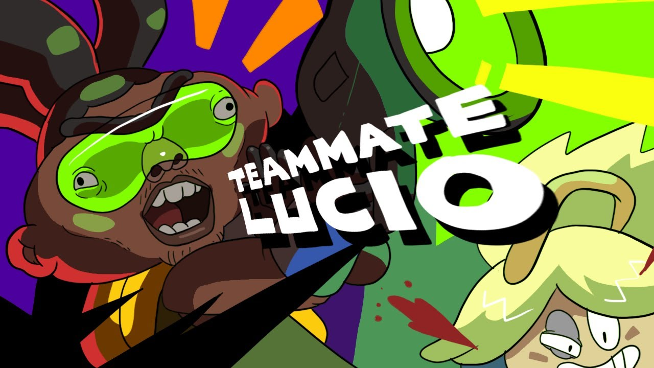 Download TEAMMATE LUCIO (OVERWATCH ANIMATION)