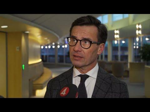 """Kristersson: """"Har underskattat svenska språkets betydelse"""" - Nyheterna (TV4)"""