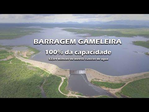 Imagens Aéreas da Barragem Gameleira  21 de Abril de 2017