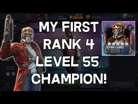 My First 5 Star Rank 4 Level 55 Champion Champion! - Marvel Contest Of Champions