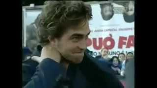 Kristen Stewart and Robert Pattinson in Rome 2008