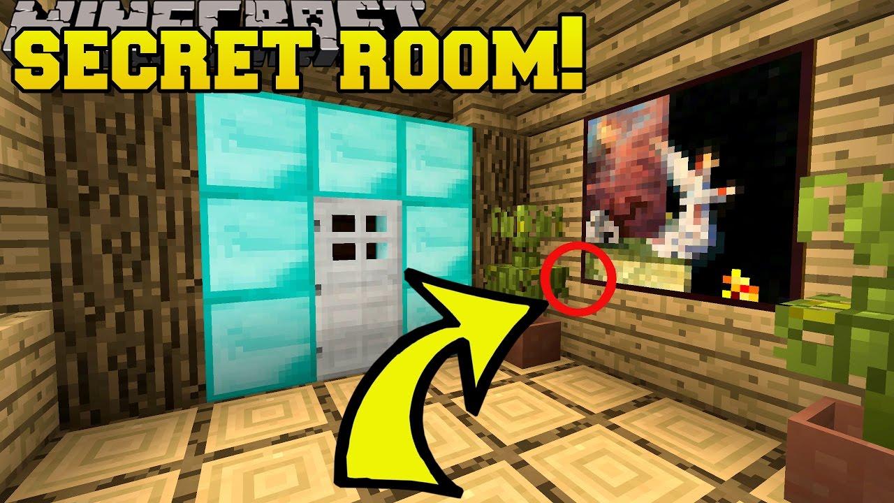 Minecraft Secret Room Parcels Custom Map 3 Youtube