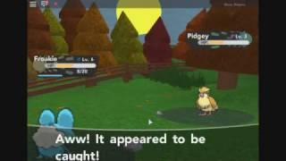 Froakie I Choose You!!!!! #Roblox Pokemon Brick Bronze eps 1