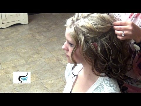 how-to-style:-cascading-half-updos-for-wedding-hairstyles