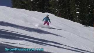 How To Snowboard: Riding Steeps