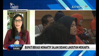 Download Video Bupati Bekasi Nonaktif Neneng Hassanah Jalani Sidang Lanjutan Meikarta MP3 3GP MP4