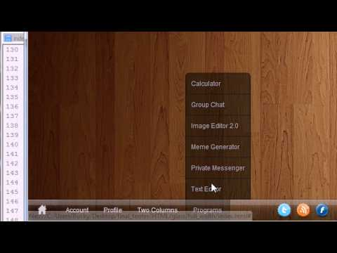 CSS3 Awesome Footer Tutorial - 14 - Styling The Drop-up Menus