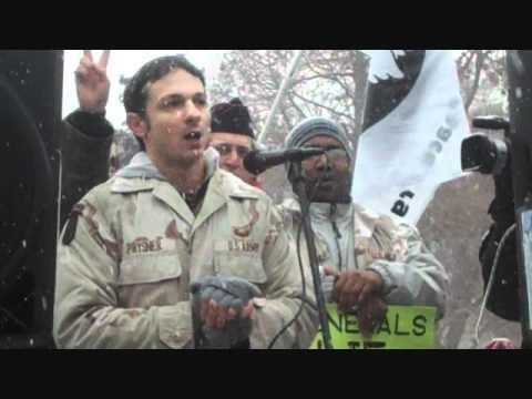 Mike Prysner Protests Obama's Wars