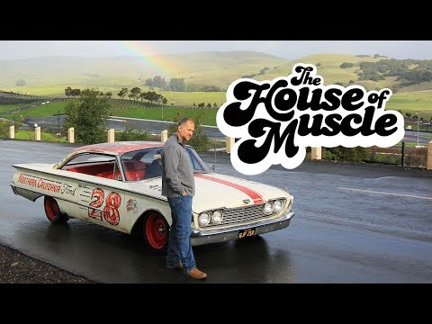 Retro NASCAR-Inspired 1960 Ford Starliner - The House Of Muscle Ep. 6