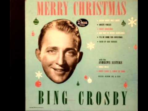 White Christmas by Bing Crosby on 1945 Decca 78.