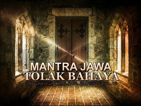 MANTRA JAWA TOLAK BAHAYA