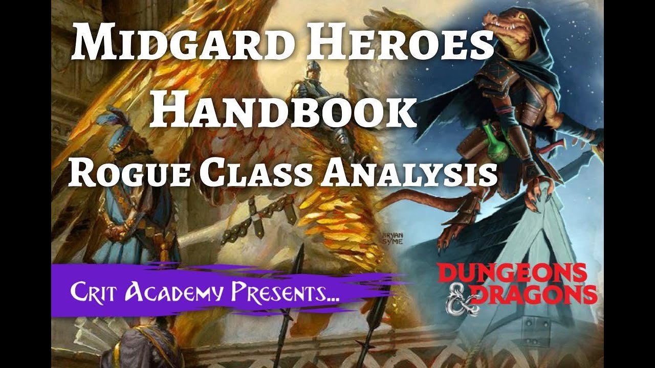 Midgard Heroes Handbook: Rogue Duelist Class Analysis