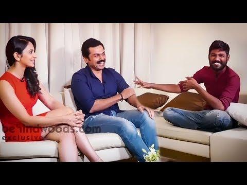 Theeran & Priya in a relaxed mood | Karthi | Rakul Preet | Theeran Adhigaaram Ondru | MY 193