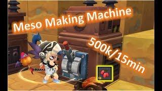 MapleStory 2: Meso making machine | Meso Farming | 500k/15min